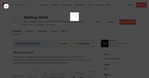 Startup Deck