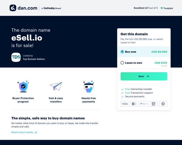 http://www.esell.io