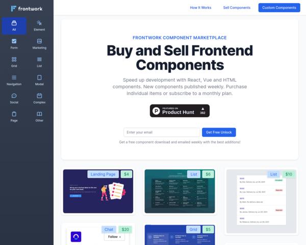https://frontwork.dev/component-marketplace