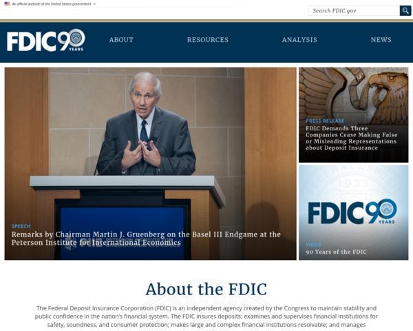 http://www.fdic.gov