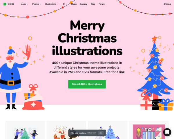https://icons8.com/l/christmas-illustrations/