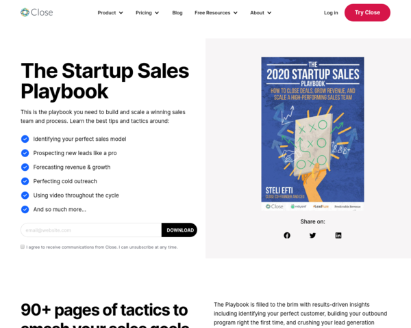https://close.com/resources/startup-sales-playbook/