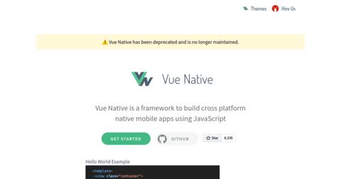 Vue Native