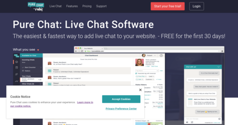 Pure Chat Engagement Hub