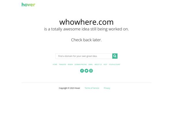http://www.whowhere.com