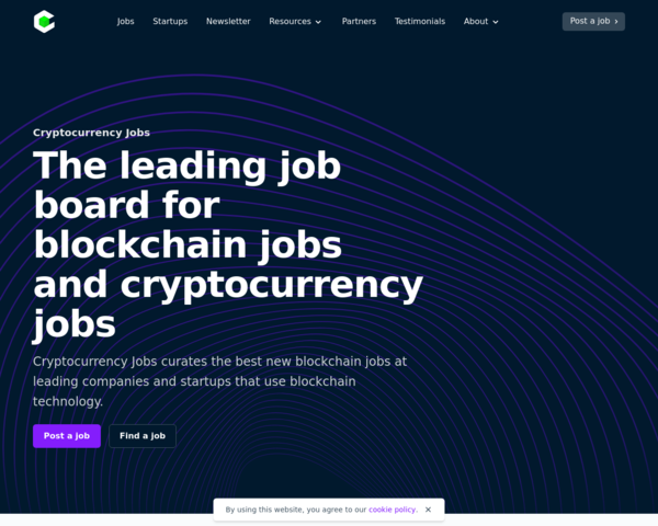 https://cryptocurrencyjobs.co/