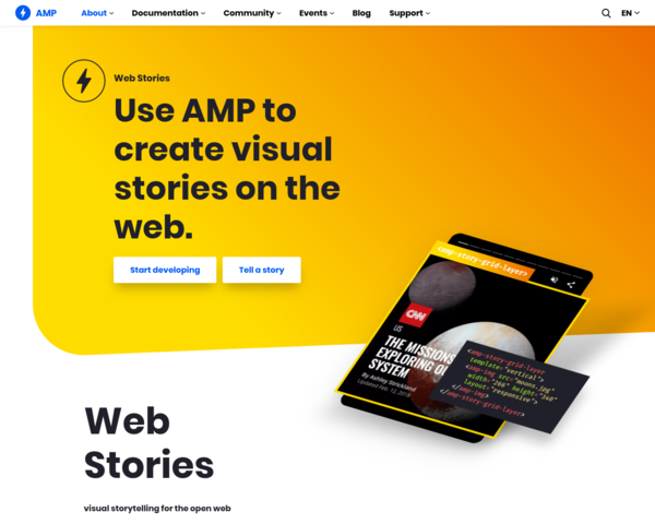 https://amp.dev/about/stories/
