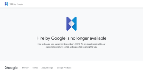Hire, by Google