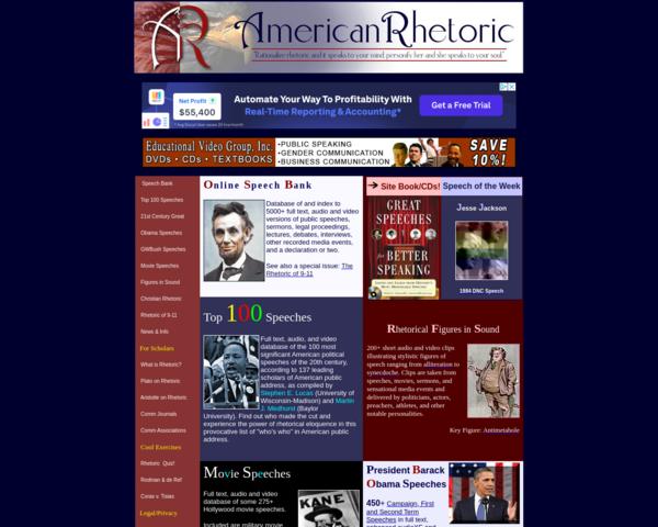 http://www.americanrhetoric.com