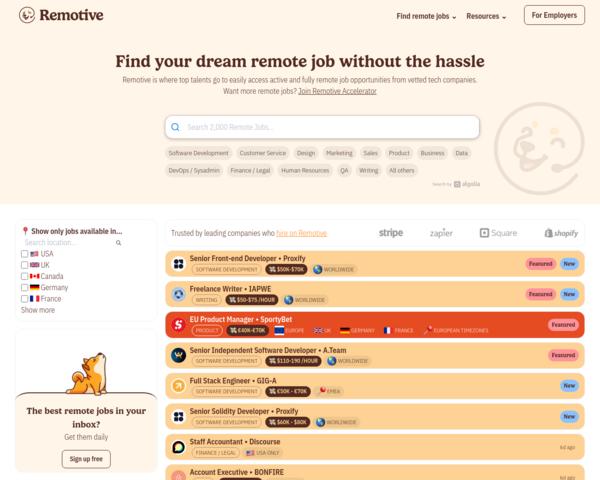 http://remotive.io