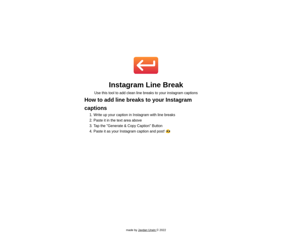 https://instagramlinebreak.app/