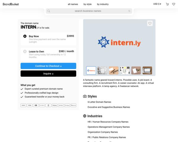 http://www.intern.ly