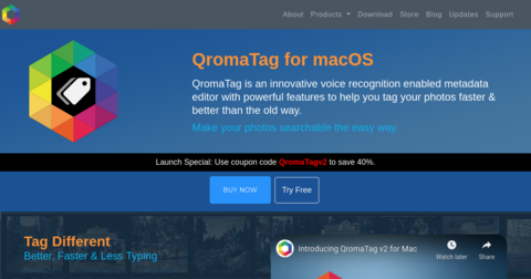 QromaTag for macOS