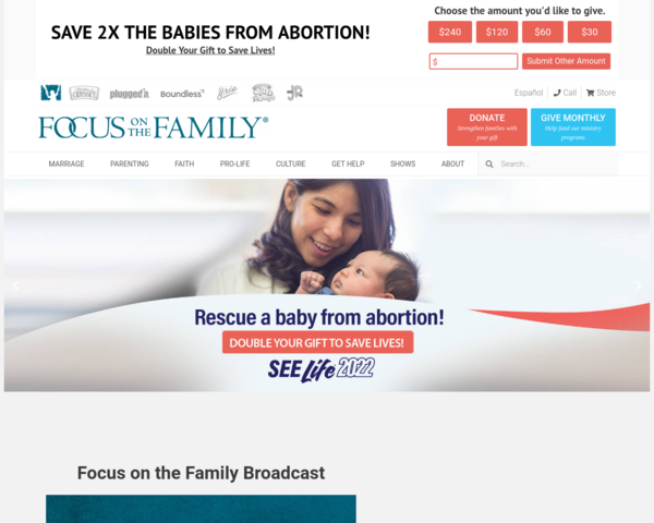 http://www.focusonthefamily.com