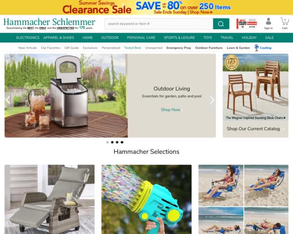 http://www.hammacher.com