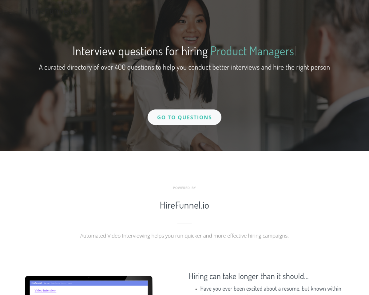 Popular & Effective Interview Questions: Directory of 300+