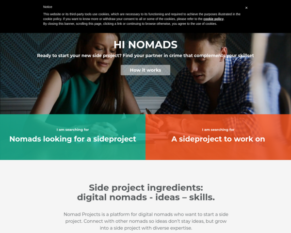 http://nomadprojects.io