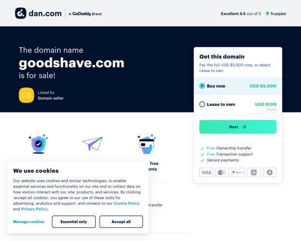 http://www.goodshave.com