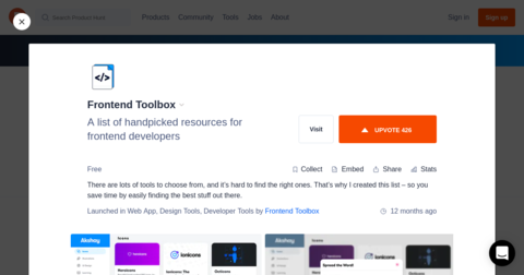 Frontend Toolbox