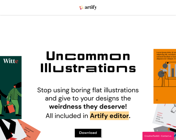 https://www.artify.co/uncommon-illustrations