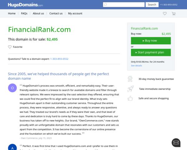 http://www.financialrank.com