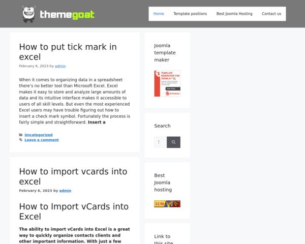 http://www.themegoat.com