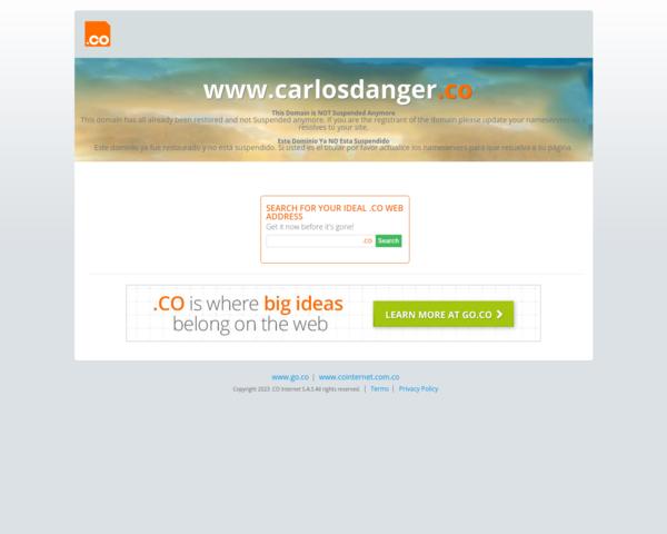http://www.carlosdanger.co/