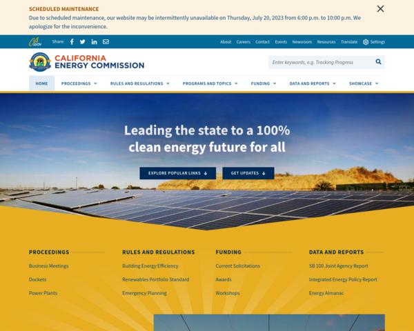 http://www.energy.ca.gov
