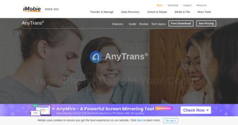 anytrans download icloud backup