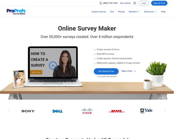 http://www.proprofs.com/survey/