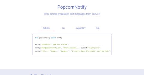 Popcorn Notify