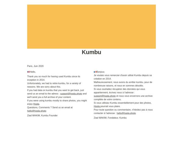 http://www.getkumbu.com