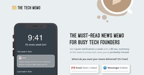 The Tech Memo