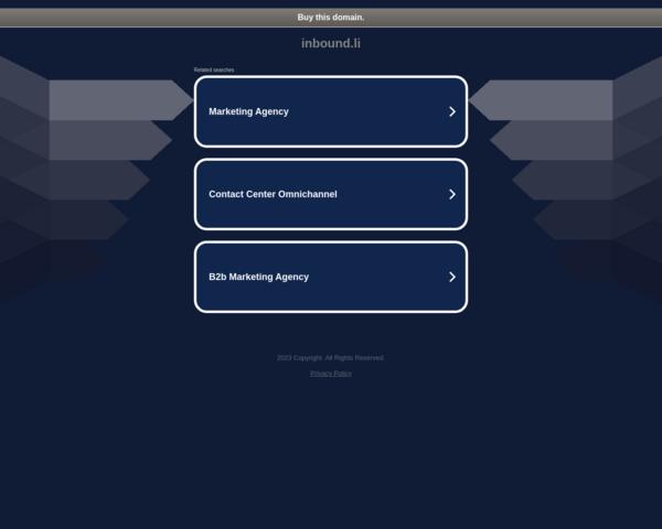 http://inbound.li/