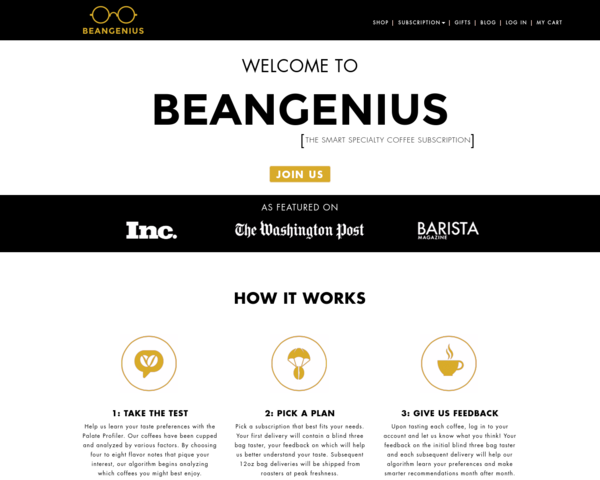 http://beangenius.com/subscription