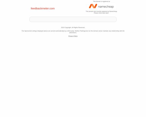 http://feedbackmeter.com
