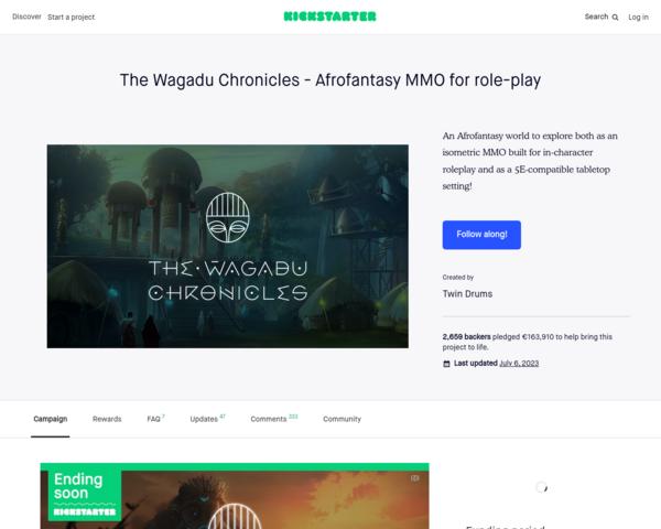 https://www.kickstarter.com/projects/wagadu/the-wagadu-chronicles