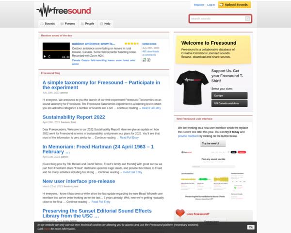 http://www.freesound.org