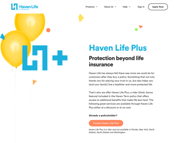 https://havenlife.com/plus.html