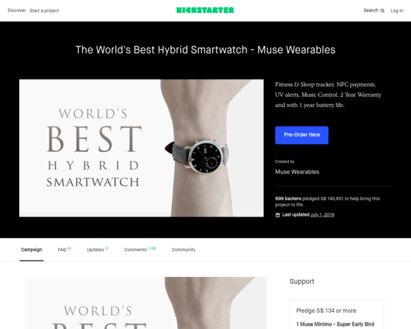 https://www.kickstarter.com/projects/1649755303/the-worlds-best-hybrid-smartwatch-muse-wearables