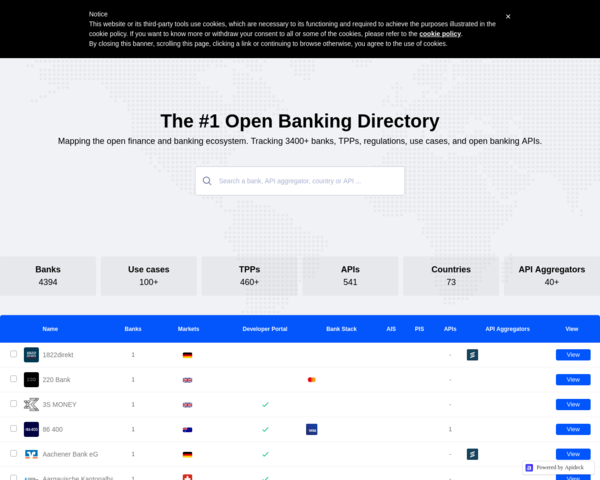 https://www.openbankingtracker.com/