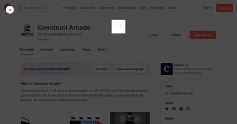 Construct Arcade