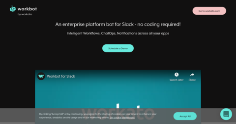 Personal Workbot for Slack