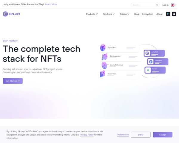 https://enjin.io/products/platform
