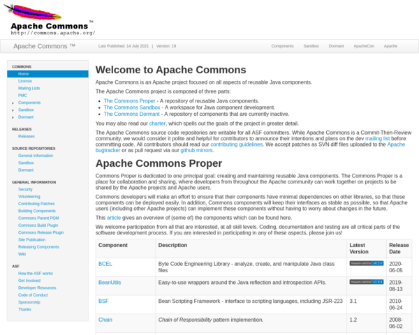 http://commons.apache.org