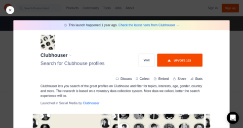 Clubhouser