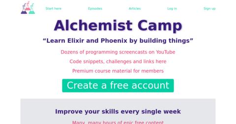 Alchemist Camp