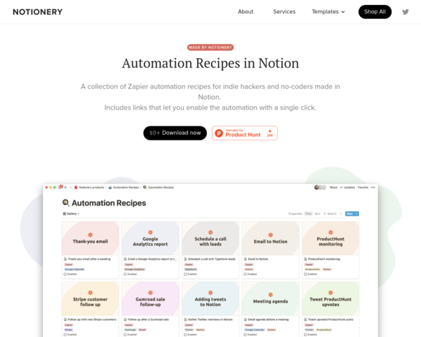 https://www.notionery.com/automations