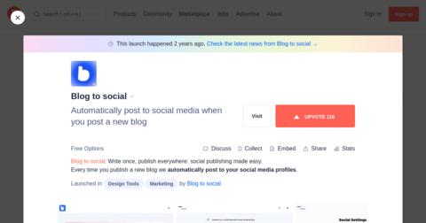 Blog to social