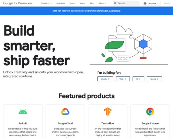 http://developers.google.com